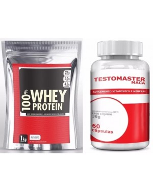 kit-whey-ouro-1kg-testomaster-maca-60caps