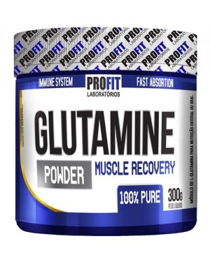 Glutamina Powder 300g Muscle Recovery - Profit Labs