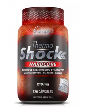 Emagrecedor Thermo Shock Hardcore 120 Cápsulas